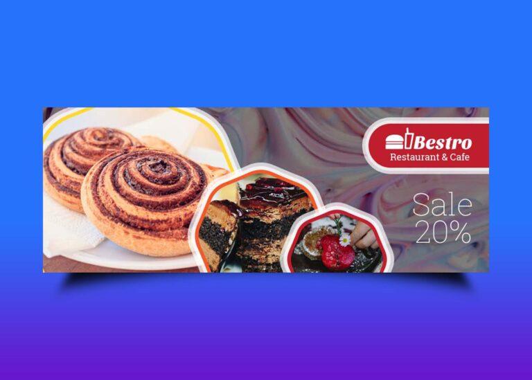 Free Ice Cream Facebook Cover Design
