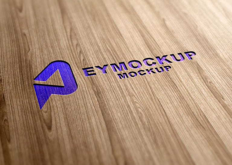 Free Luxury 3D Logo Mockup