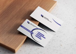 Free Minimalist Visiting Business Cards