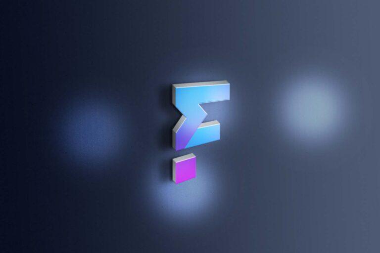 Free Open 3D Logo Mockup