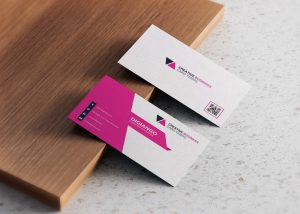 Free Pink City Business Card Design