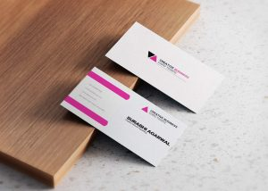 Free Pink City Business Cards
