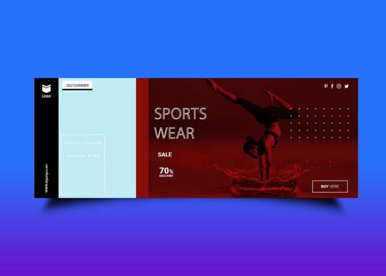 Free Sports Fashion Wear Fb Cover