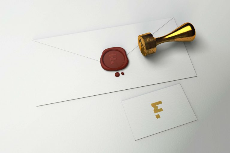 Free Stamp 3D Logo Mockup