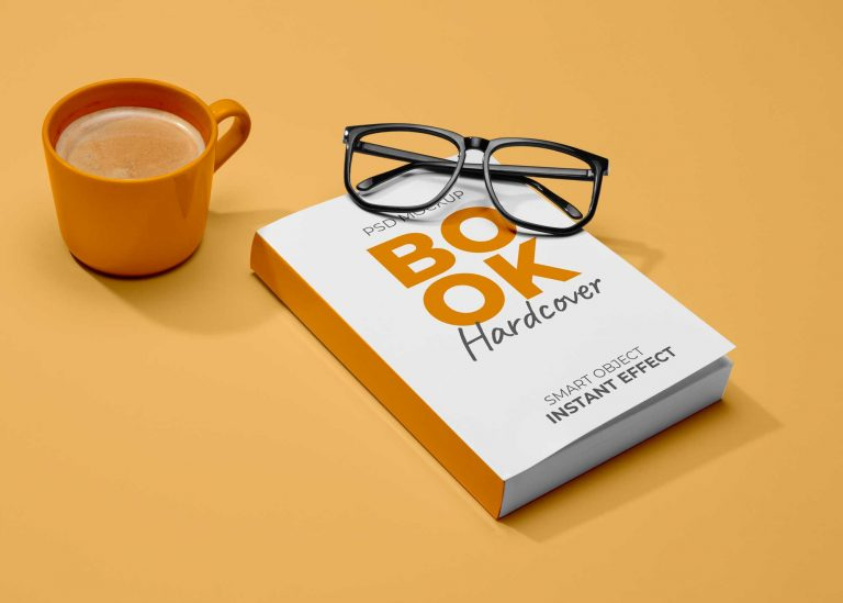 Premium Book Cover Mockup