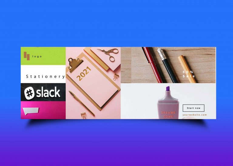 Free Stationery Fb Cover Banner