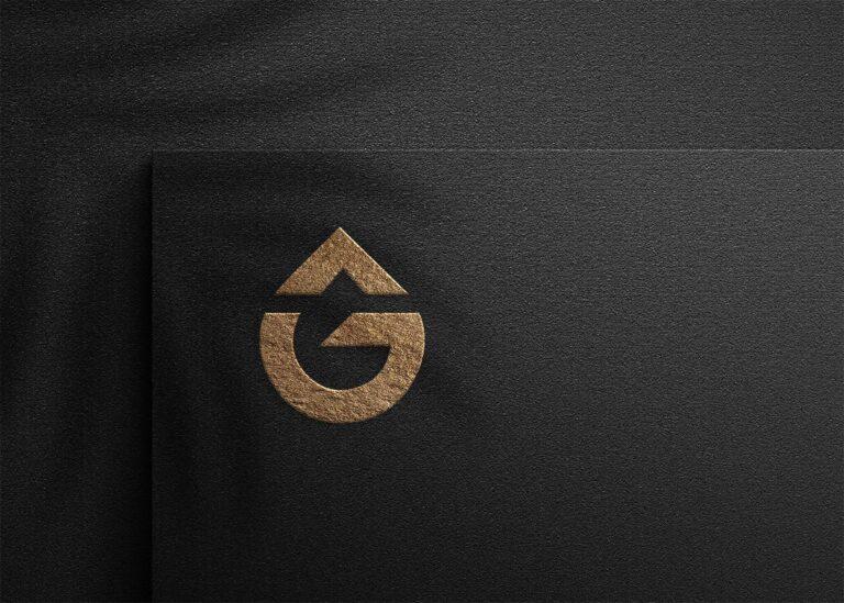 Free Strong Logo Mockup