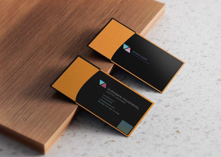 Free Stylish Business Card Design