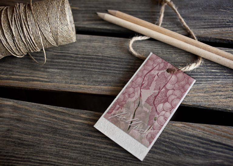 Free Texture Effect Tag Mockup