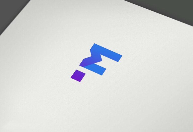 Free Texture Paper Logo Mockup