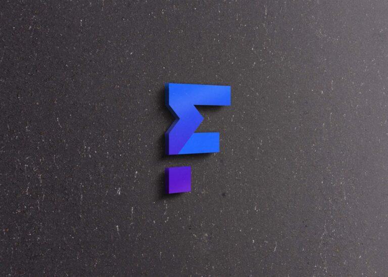 Free Tiny 3D Logo Mockup