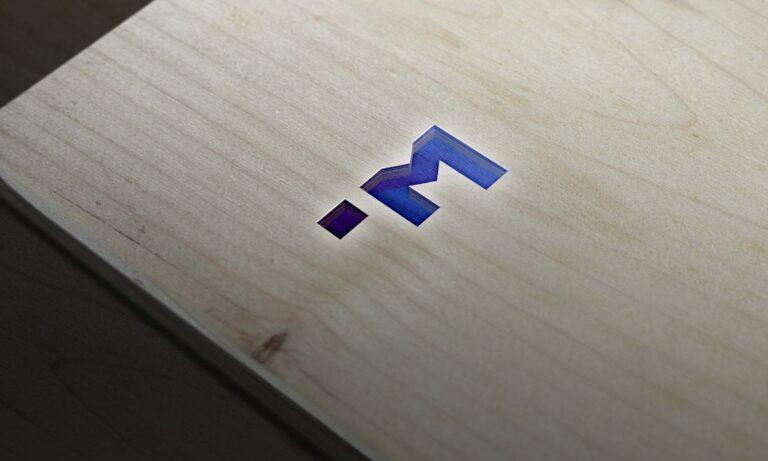 Free Wood Cut 3D Logo Mockup