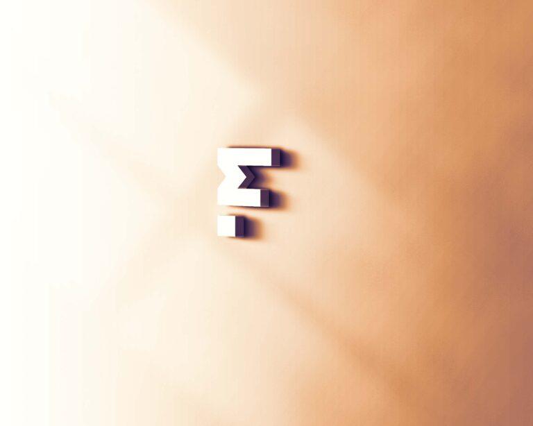 Free Zero 3D Logo Mockup