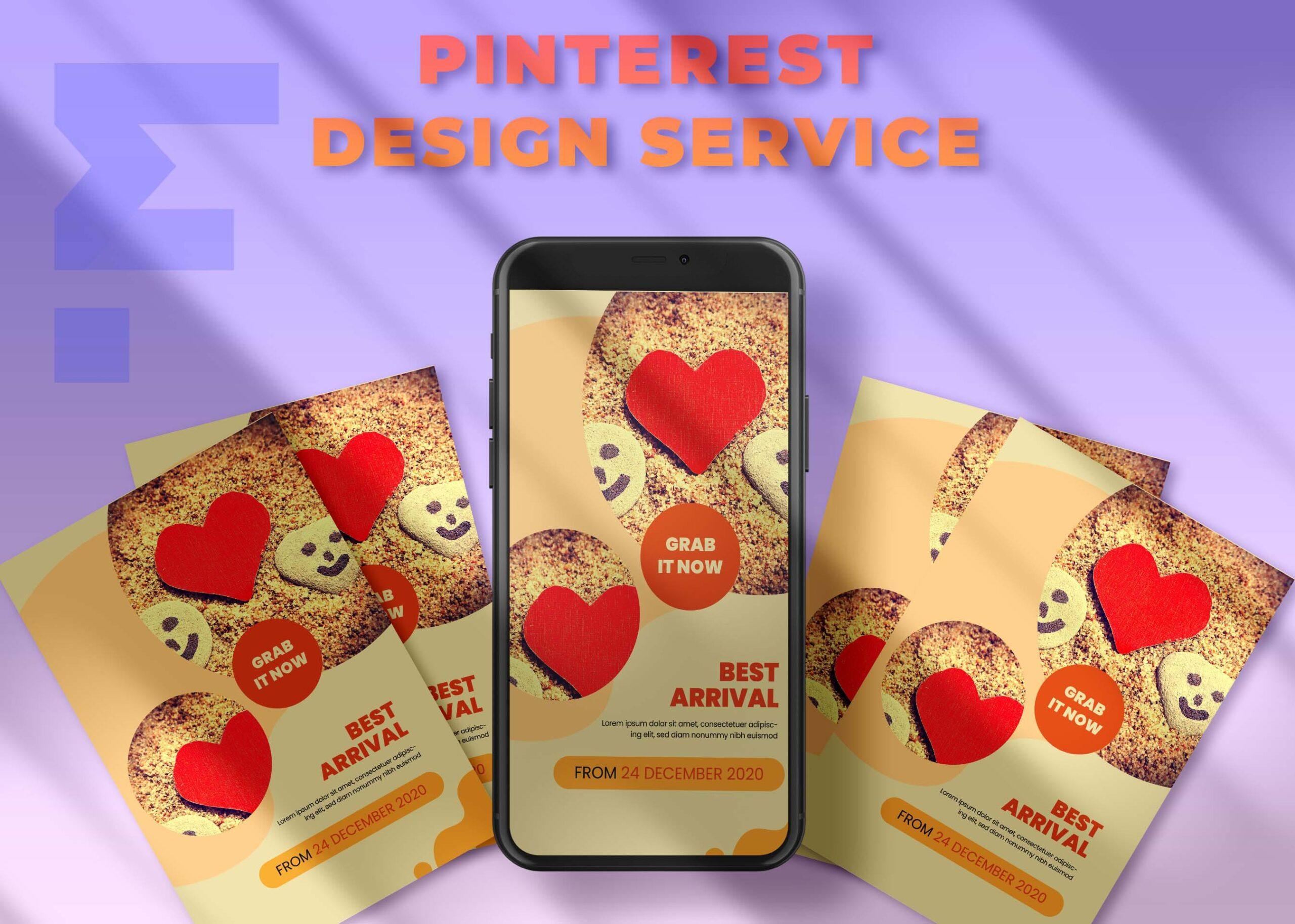 Pinterest Banner Mockup