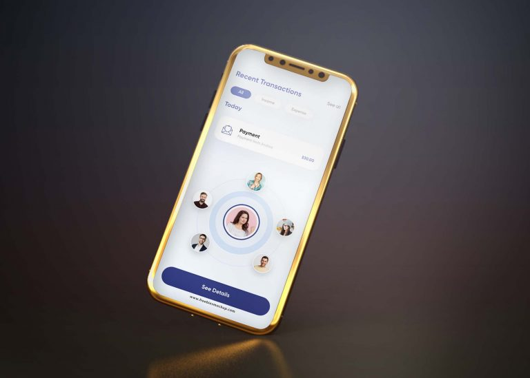 Android Phone View Mockup