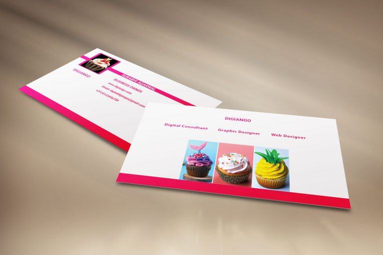 Free Bakery Business Card Design