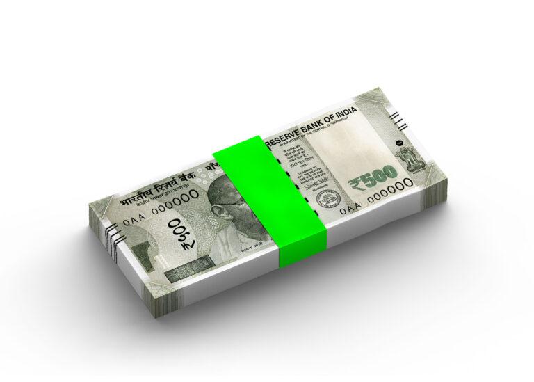 Banknote View Stack Mockup