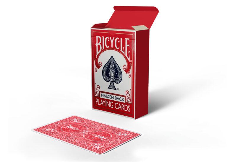 Bicycle Playing Card Box Mockup
