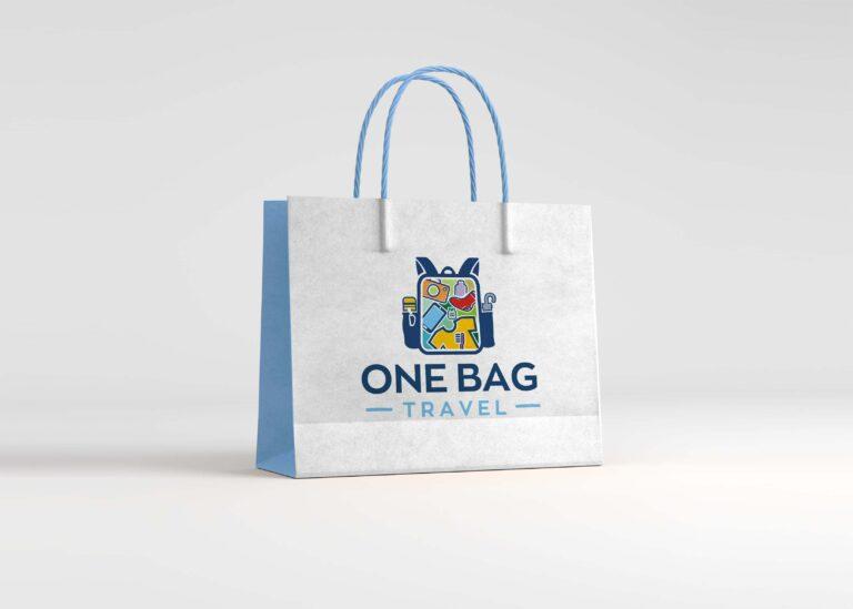 Free Big Branded Bag Mockup