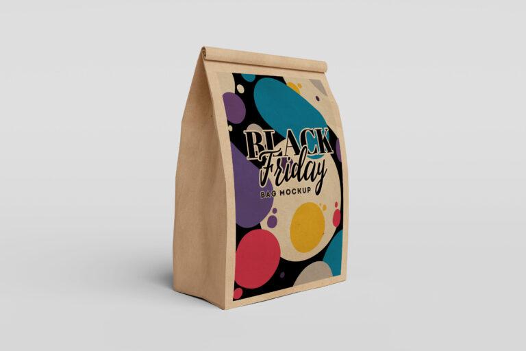 Brown Paper Bag Mockup