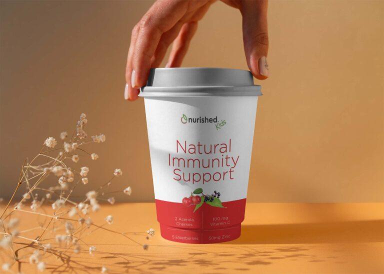 Natural Immunity Coffee Mockup