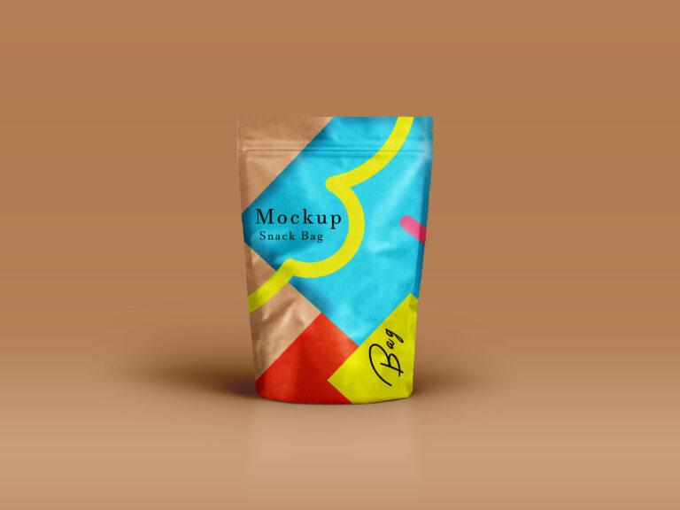 Basic Page Bag Label Mockup