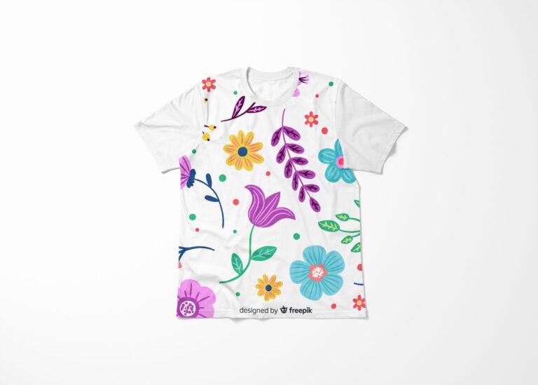 Cute T-shirt Mockup