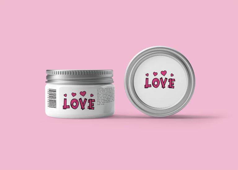 Cosmetic Cream Packaging Mockup