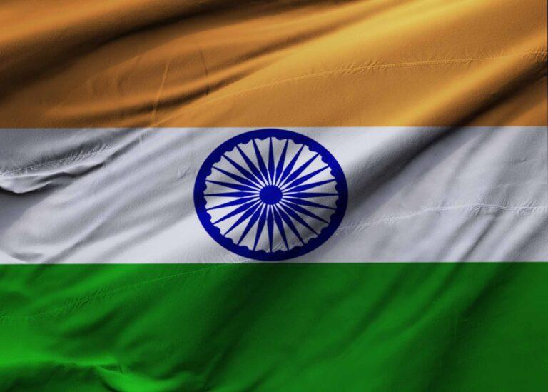 Indian Flag Mockup
