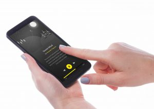 Touch Screen Phone Mockup
