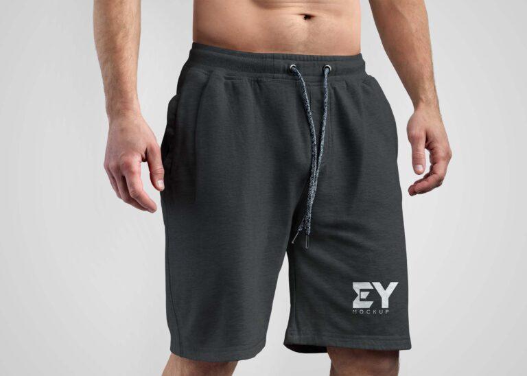 EY Mockup Men Shorts Mockup