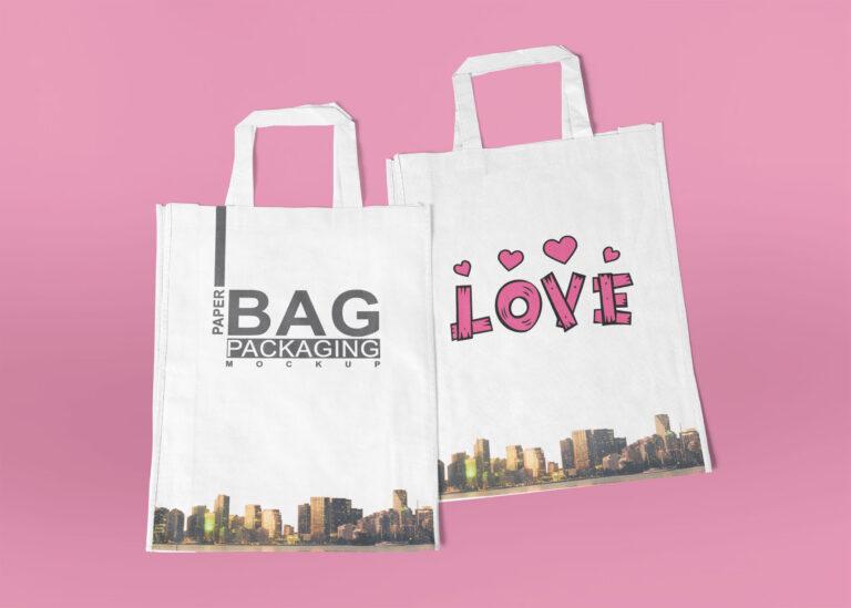 Nylon Bag Mockup