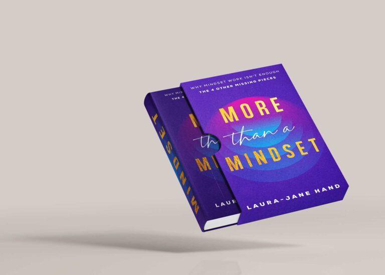 Mindset Book Cover & Sleeve Mockup