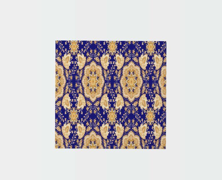 Home Embroidery Carpet Mockup