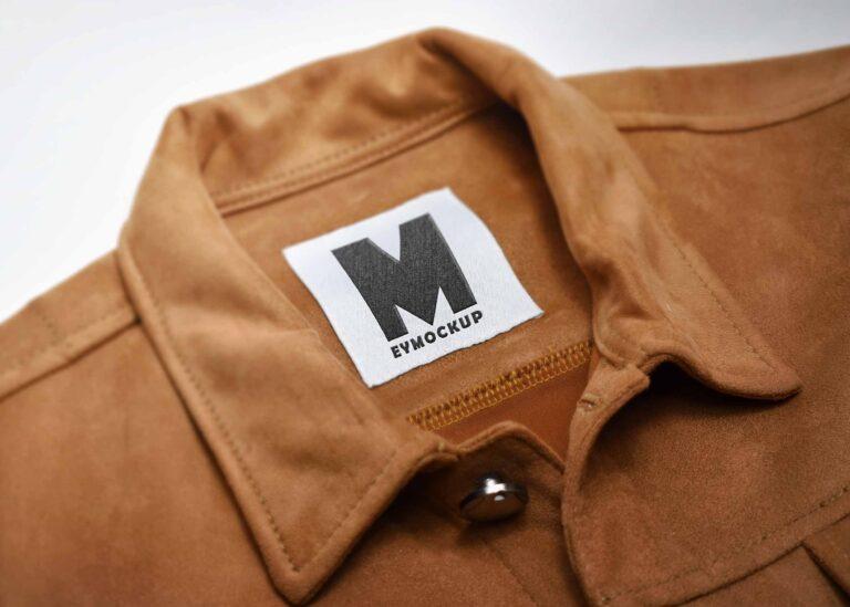 Jacket Tag Logo Mockup