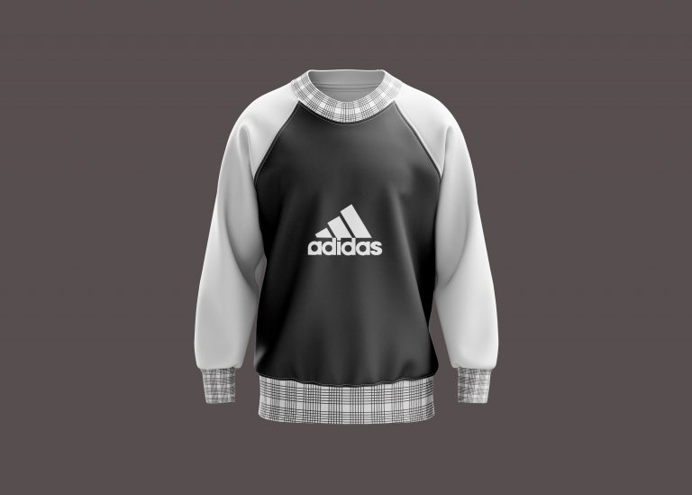 Adidas Sweatshirt Mockup