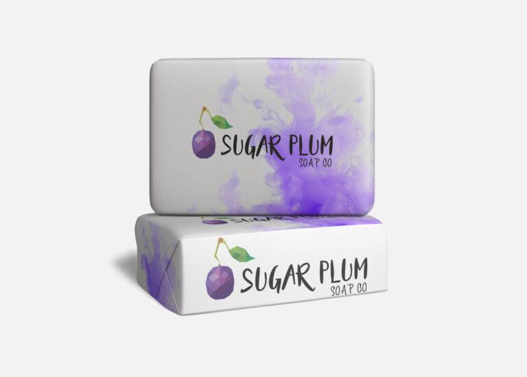 Sugar Plum Soap Mockup