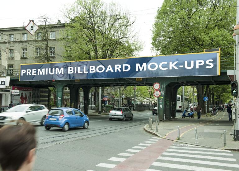 Premium Billboard Mockup
