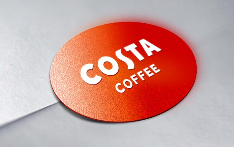 Costa Coffee Mockup