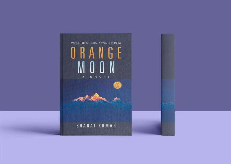 Orange Moon Novel Cover Mockup