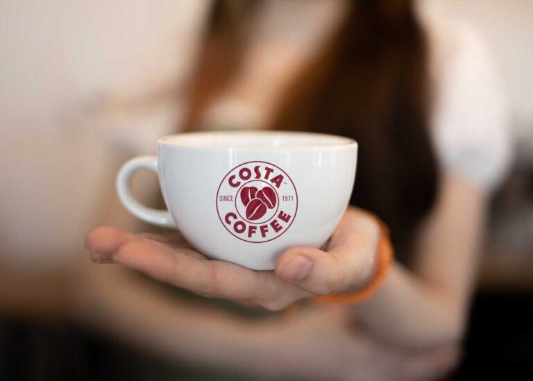 Tea Cup Logo Mockup