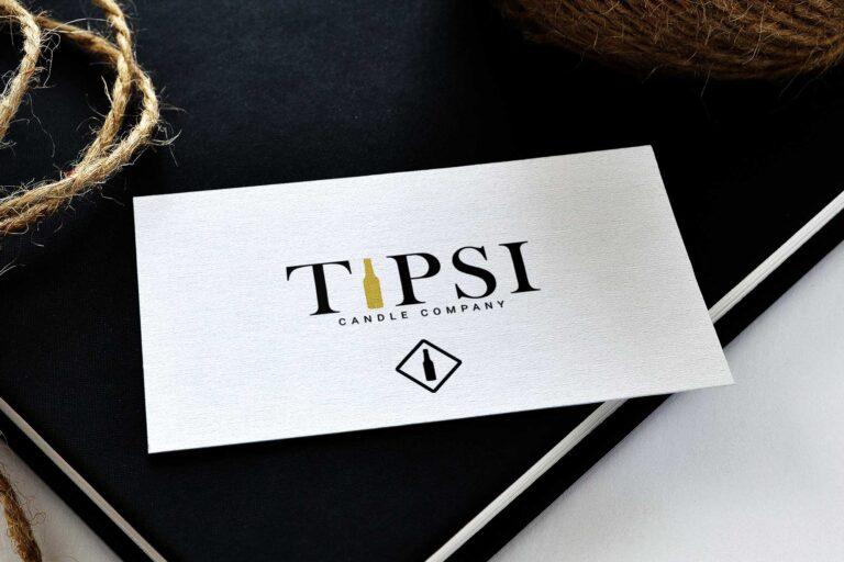 Tipsi Business Card Mockup