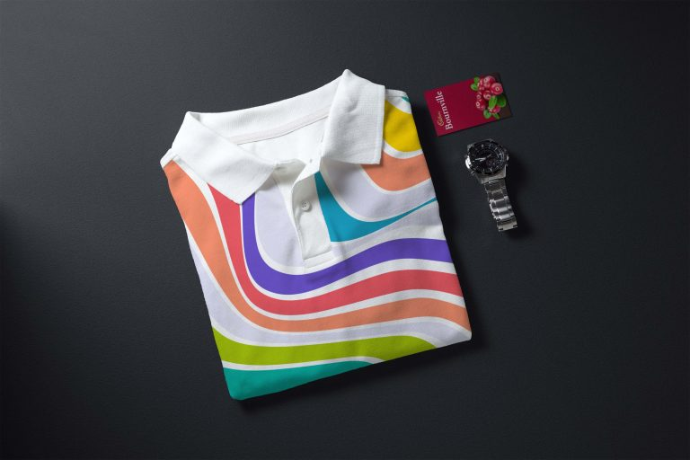 Simple Tshirt Branding Mockup