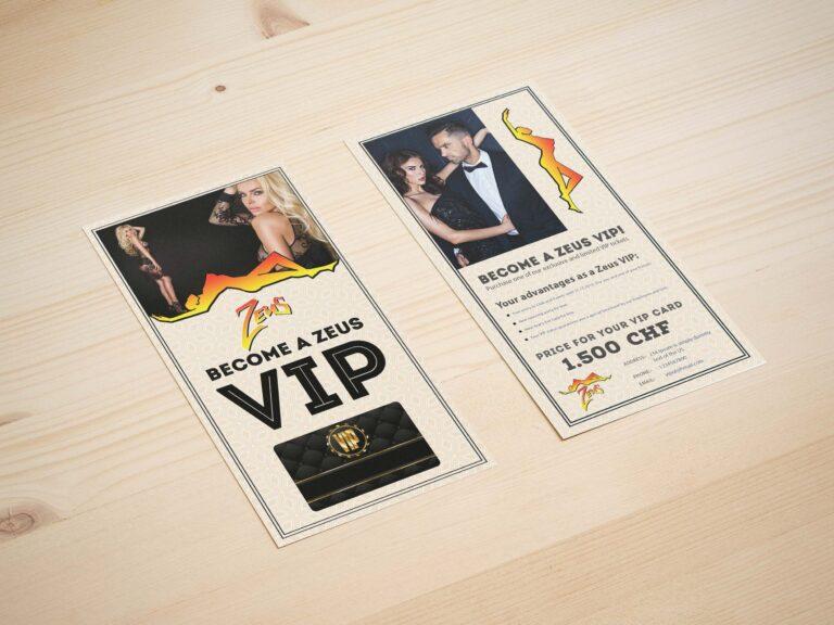 VIP Rack-Card Mockup