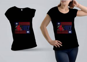 The 4th July T-shirt Design