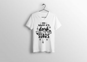 Look For Star T-shirt Design (1)