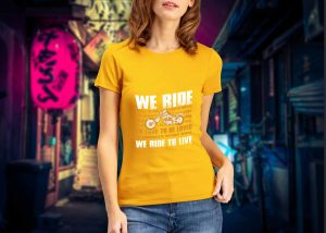 Ride To Feel T-shirt Design (1)